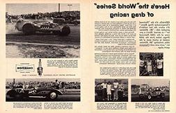 """1960 CHAMPION SPARK PLUGS"""" Here's the""""World Series"""" of Drag"""
