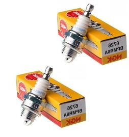 2 NGK BPMR6A SPARK PLUGS FITS DEERE TY6079 TY6081 KAWASAKI 9