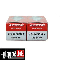 2 Pack Genuine OEM Honda Spark Plug 98079-55846 Spark Plug F