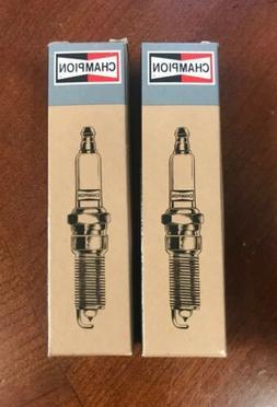 2 Pack Genuine Champion RCJ6Y Spark Plug Copper Plus 852