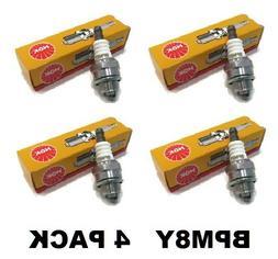 4 NGK BPM8Y Echo 15901019830 Blower Trimmer Spark Plugs Echo
