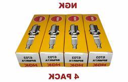 4 NGK BPMR7A Spark Plug Fit Stihl Husqvarna Echo Chainsaws B