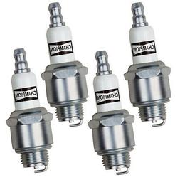 Champion 4 Pack of Genuine OEM  Spark Plugs # RJ19LM-4PK