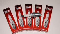 6 PACK OF CHAMPION RC12YC SPARK PLUGS OEM FOR BRIGGS AND KOH