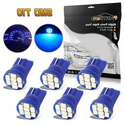 Partsam T10 LED Light Bulbs 194 168 175 2825 Lights Car Inte