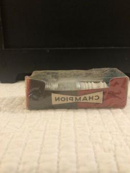 A-25 Champion Spark Plug Vintage Original Packaging