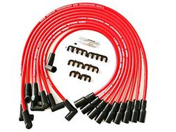 A-Team Performance 8.0mm Red Silicone Spark Plug Wires SBC 1
