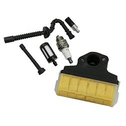 HIPA Air Filter + Spark Plug + Fuel / Oil Line Filter for ST