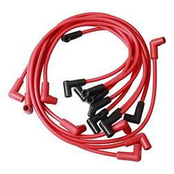 BIG AUTOPARTS 9 Pack 8mm Super Spark Plug Wire 4048 HEI Spar