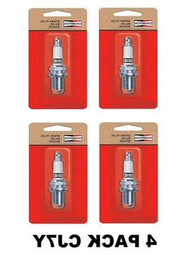 Champion CJ7Y Spark Plug Fit Small Engines Genuine 4 Pack