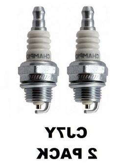 Champion CJ7Y Spark Plug Fit Small Engines Genuine 2 Pack