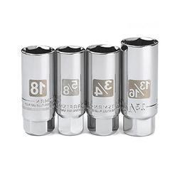 "Craftsman 3/8"" Drive 4pc Spark Plug Socket Set Metric SAE 18"