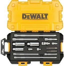 DEWALT Drive Tool Accessory Set 1/4 3/8 in. Sockets Ratchet