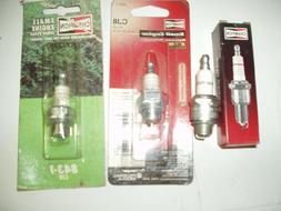 Four New Champion Spark Plugs