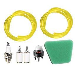 HIPA Fuel Air Filter Gas Line Primer Bulb Spark Plug for McC