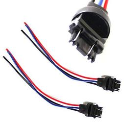 iJDMTOY  3156/3157 Male Adapter Wiring Harness For Car Motor