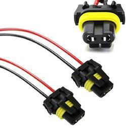 iJDMTOY  900-Series 9005 9006 Female Adapter Wiring Harness