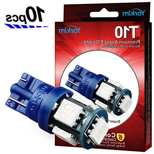 194 led bulbs blue 6000k super bright