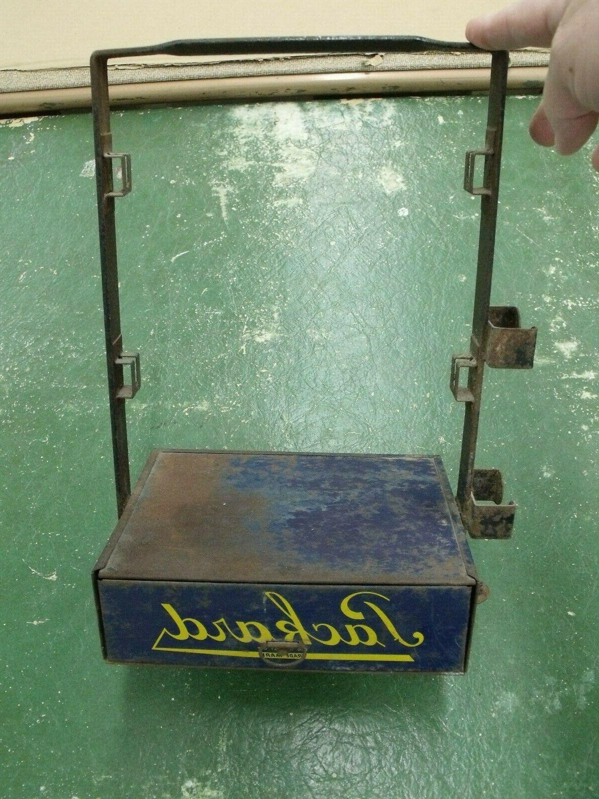 PACKARD Automotive Cables Spark Plug Wire Metal Tote Cabinet