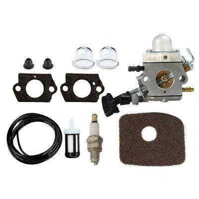 Carburetor Spark Plug Kit For STIHL BG86 SH56 SH56C Chainsaw