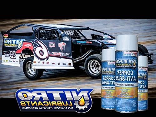 Nitro Copper Compound - Spray Spark Threads, Parts, Steel, Aluminum - 1 Can