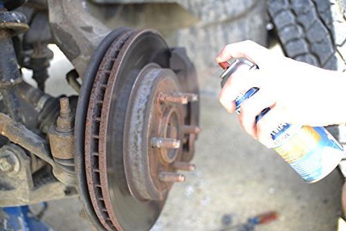 Nitro Lubricants Copper Spray Anti-Sieze - Copper Based Compound - Lubricant - Great Use Spark Plug Threads, Brake Parts, -