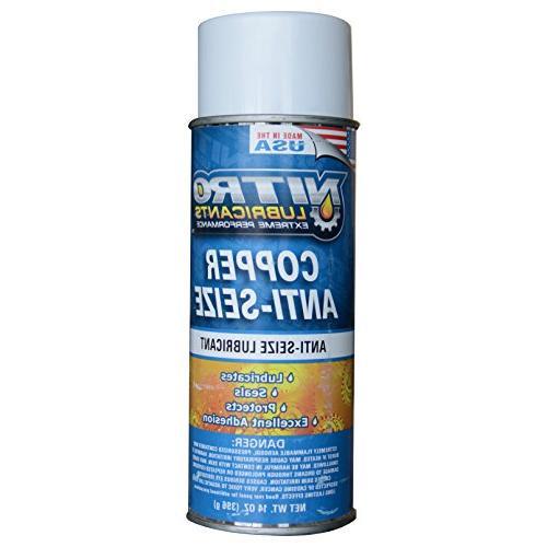 copper spray anti sieze copper based compound