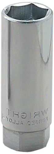 "Wright Tool 3590 3/8"" Drive 6 Point Spark Plug Holding Socke"