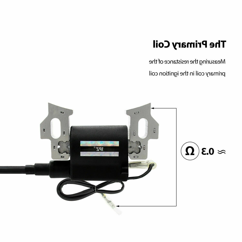 Ignition Coil & Spark Plug 4375 Generator
