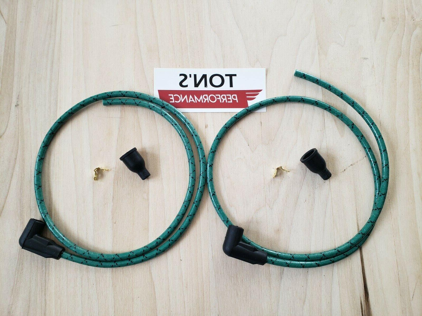 kohler onan spark plug wire set generator