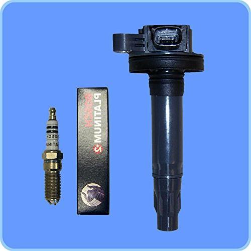 Set Spark Plugs + Premium Performance Coils For Mercury UF553