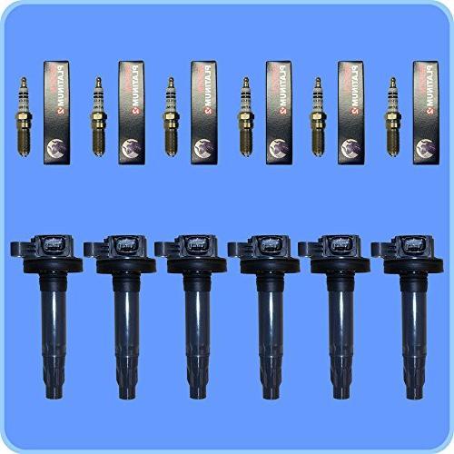 set of 6 bosch spark plugs 6