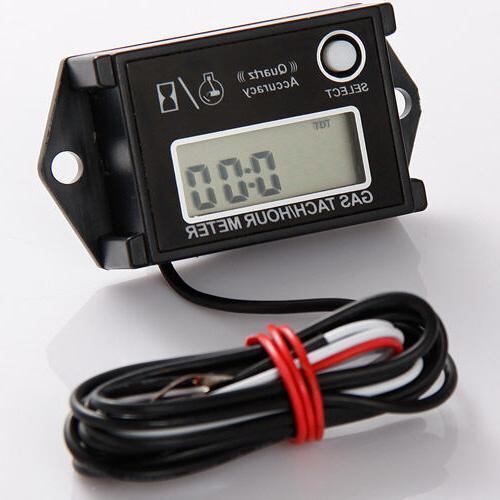 tiny tachometer tach hour meter