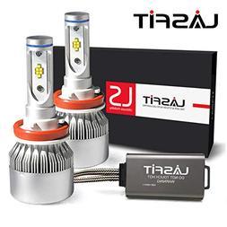 LASFIT LS Series H11/H8/H9/H16 LED Headlight Bulbs-LUMILEDS