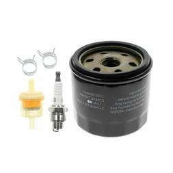 Oil Filter Fuel Spark Plug For Craftsman LTX1000 LT2000 John