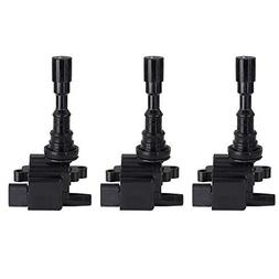 cciyu Pack of 3 Ignition Coils for Hyundai Santa Fe/Hyundai