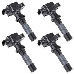 pack of 4 ignition coils for mazda