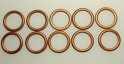 QTY. 10 Champion Harley NOS 18mm Spark Plug Copper & asbesto