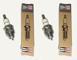 2 Champion RJ19HX Spark Plug 973 Fits Briggs & Stratton Fine