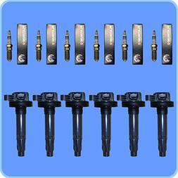 Set of  Bosch Spark Plugs +  AD AutoParts Premium High Perfo