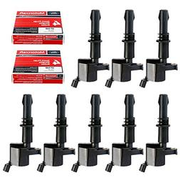 MAS Set of 8 Ignition Coils GDG511 GD511 FD508 Motorcraft Sp