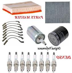 Tune Up Kit Air Cabin Oil Fuel Filters Wire Spark Plug for C